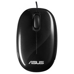 asus seashell optical mouse v2 black usb