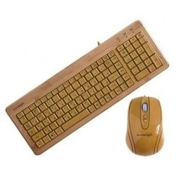 gembird kb-001-rua bambook yellow usb