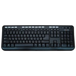 logicpower lp-kb 004 black ps/2