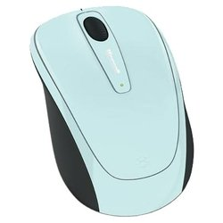 microsoft wireless mobile mouse 3500 limited edition aqua blue usb