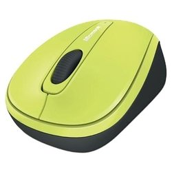 microsoft wireless mobile mouse 3500 limited edition citron green usb