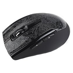 intro mw206 wireless black-3c mouse black usb