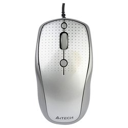 a4tech d-530fx-1 dustfree hd mouse grey usb (серый)