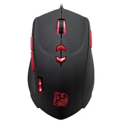 tt esports by thermaltake gaming mouse theron infrared black usb