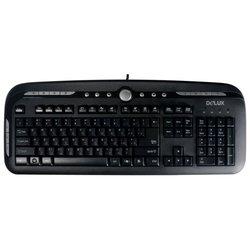 Delux DLK-8100 Black USB