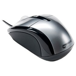 revoltec wired mini mouse w103 silver usb