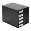 Корзина для HDD Exegate HS535-01 (черный) - Корпус, док-станция для жесткого дискаКорпуса и док-станции для жестких дисков<br>Корзина для подключения 3,5 жестких дисков с возможностью горячей замены, 5 слотов, интерфейс SATA/SAS.<br>