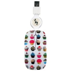 t'nb guppy vip cup cake white usb