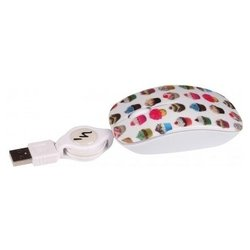 t'nb souris optique guppy vip cup cake white usb