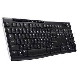 Logitech Wireless Keyboard K270 (черный)