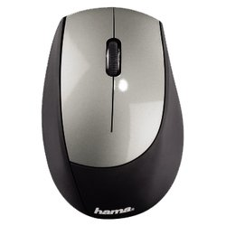 hama m2150 wireless optical mouse black-silver usb