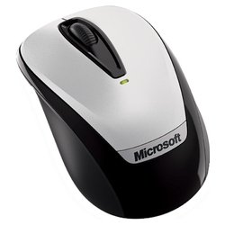 microsoft wireless mobile mouse 3000 with nano grey usb