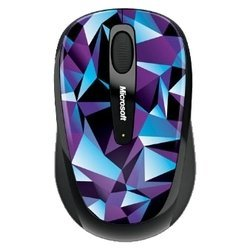 microsoft wireless mobile mouse 3500 artist moore usb (синий-черный)