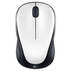 logitech wireless mouse m235 usb (белый-черный)