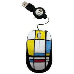 cirkuit planet cpl-mm1207 black-white usb