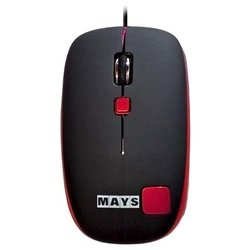 mays mn-220r black-red usb