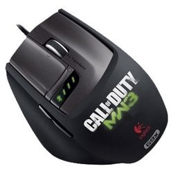 logitech laser mouse g9x: made for call of duty usb