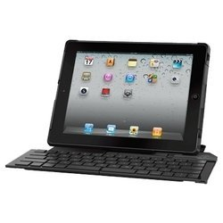 Logitech Fold-Up Keyboard for iPad 2 Black USB