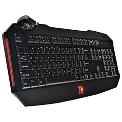 tt esports by thermaltake gaming keyboard challenger black usb (������)