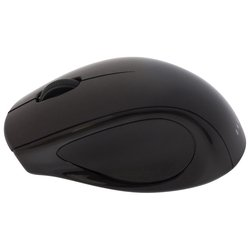 oklick 412sw wireless optical mouse black usb (черный)