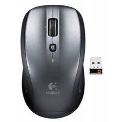logitech couch mouse m515 usb (серебристый)