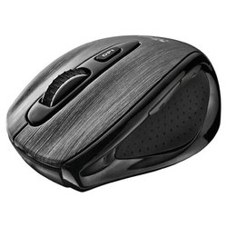 trust kerbstone wireless laser mouse black usb