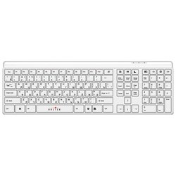 oklick 560 s multimedia keyboard white usb