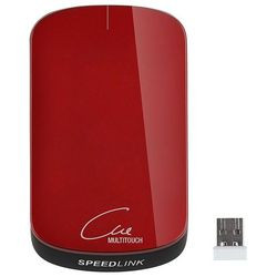 speedlink cue wireless multitouch mouse metallic-red usb