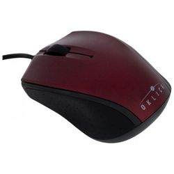 oklick 525 xs optical mouse red-black usb