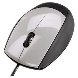 hama m368 optical mouse black-silver usb