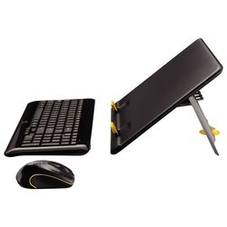 Logitech Notebook Kit MK605 Black USB (черный)
