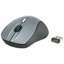 speedlink apex nano receiver mouse silver-black usb