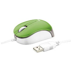 trust micro mouse green usb