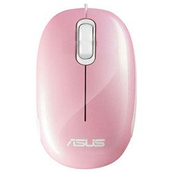 ASUS Seashell Optical Mouse Pink USB