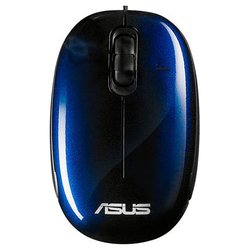 ASUS Seashell Optical Mouse USB (ASA-90-XB08OAMU00030) (синий)