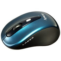 apacer m821 wireless laser mouse blue usb