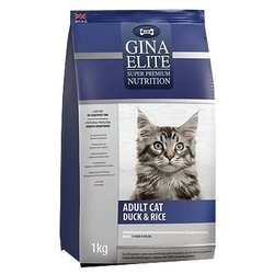 Gina Elite (3 кг) Adult Cat Duck & Rice