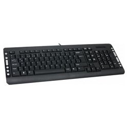 Delux DLK-5015 Black PS/2