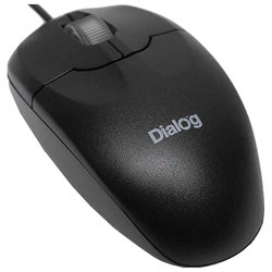 dialog mop-01bp ps/2 (черный)