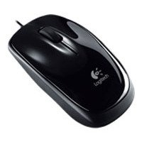 logitech b105 portable mouse black usb