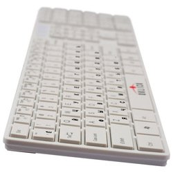 oklick 555 s multimedia keyboard white usb (�����)