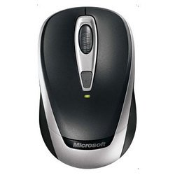 microsoft wireless mobile mouse 3000 black usb (черный)