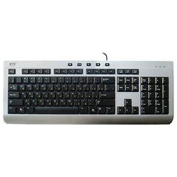 BTC 9313U Silver USB (черно-серебристая)