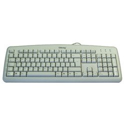 Chicony KB-0325 White PS/2