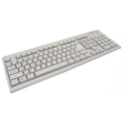Gembird KB-8300-R White PS/2 (белый)