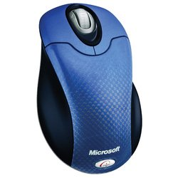 microsoft wireless optical mouse 3000 blue moon usb+ps/2