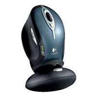 logitech mx 1000 laser cordless mouse black usb+ps/2