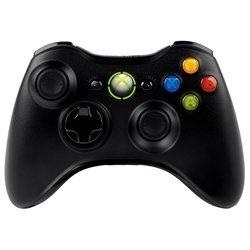 Беспроводной геймпад для Xbox 360 (черный) + игра Halo 4