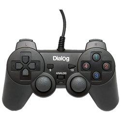 Геймпад Dialog GP-A11 (черный)