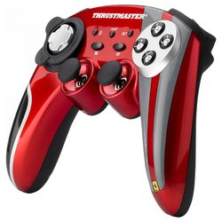 thrustmaster ferrari wireless gamepad 430 scuderia limited edition (черный/красный)